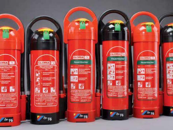 GLORIA Sıvı Kimyasal Köpüklü Yangın Söndürücüler